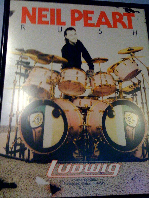Neil Peart Ludwig